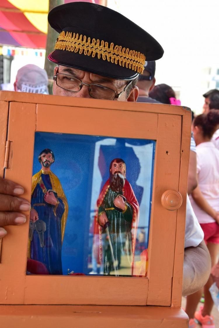 Pedro y Pablo, los santos 'fiesteros' de Manabí