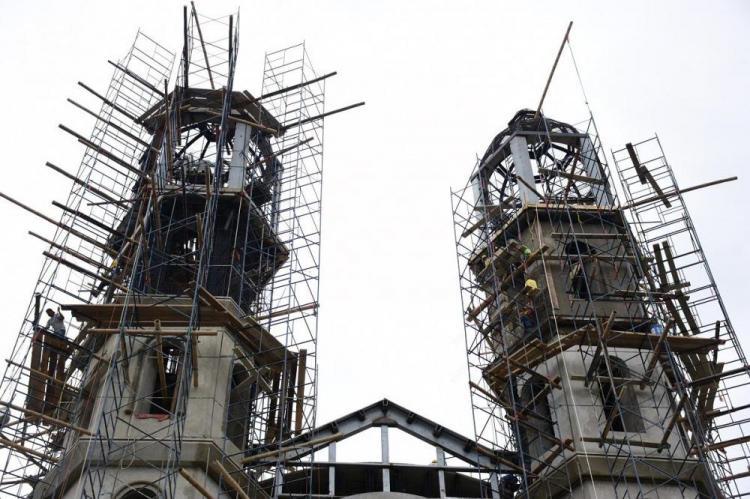 Portoviejo: La fachada de la Catedral está en la recta final