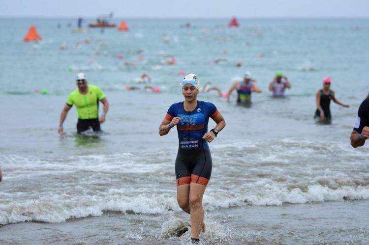 El Ironman 70.3 reunió a 1.600 atletas en Manta