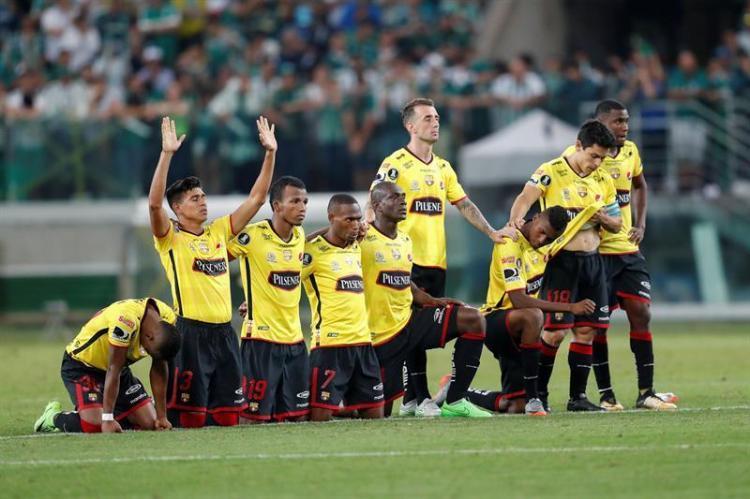 ¡POR LAS MANOS DE BANGUERA! Barcelona SC clasificó a los cuartos de final de la Copa Libertadores