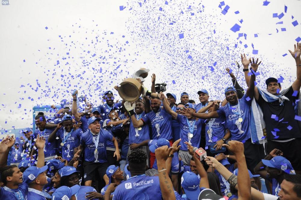 Esta es el cuarto título nacional que gana Emelec en los últimos cinco años.