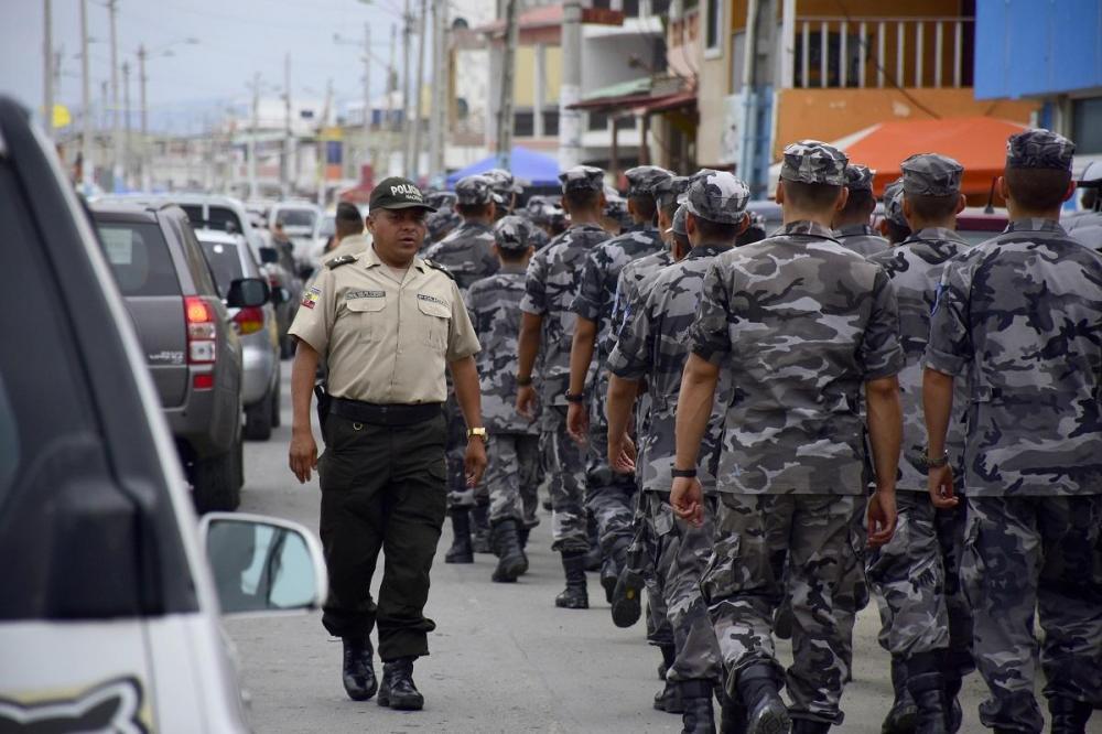 Durante este feriado se pudo ver gran presencia policial en las playas, lo que ayudó a salvaguardar la tranquilidad.