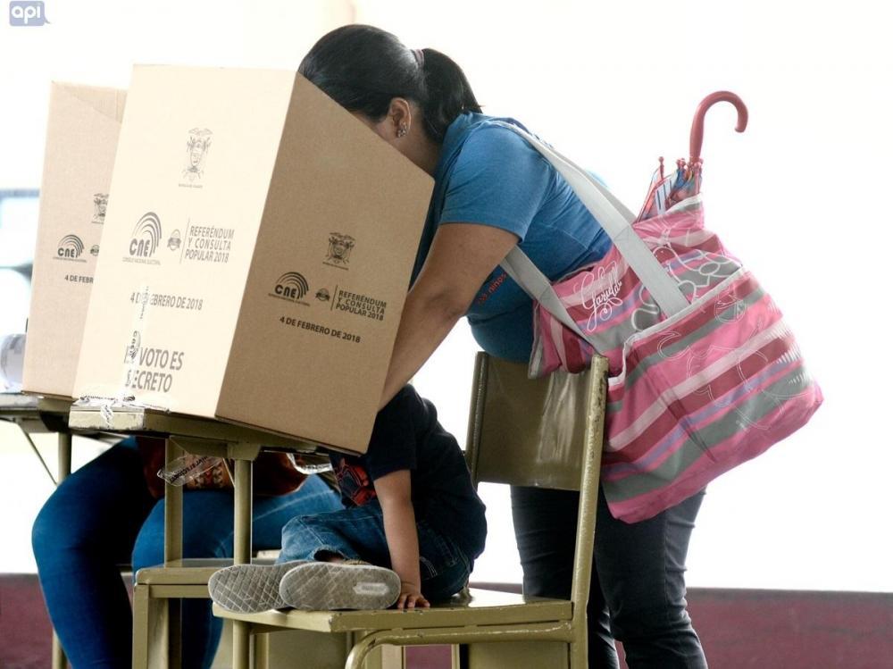 La jornada electoral en Ecuador inició a las 07h00 y se desarrollará hasta las 17h00.