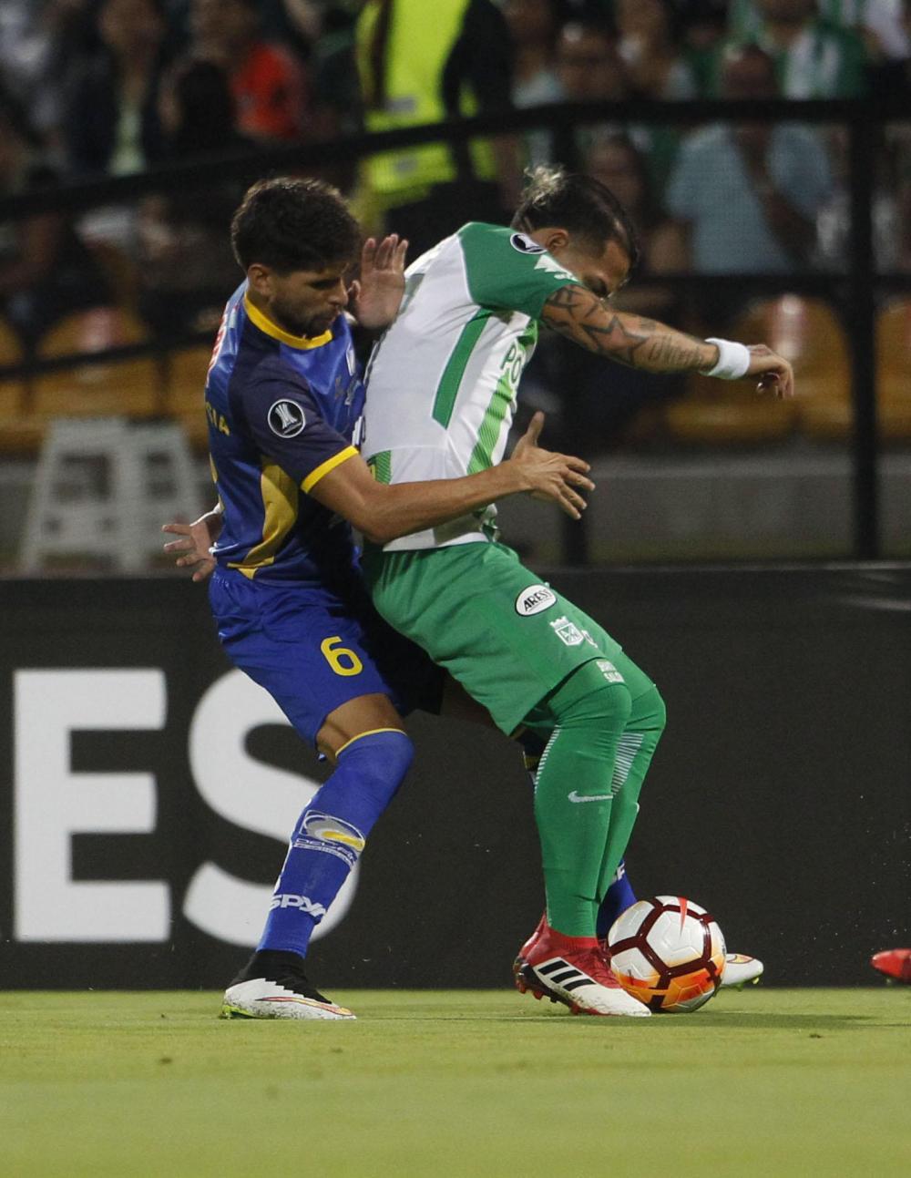 Delfín SC no pudo con Atlético Nacional y cayó por 4-0 en el estadio Atanasio Girardot, de Medellín.