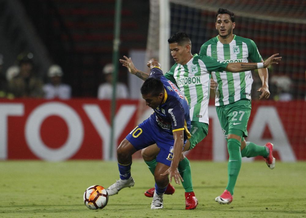 El cotejo era válido por la segunda fecha del Grupo B de la Copa Libertadores.
