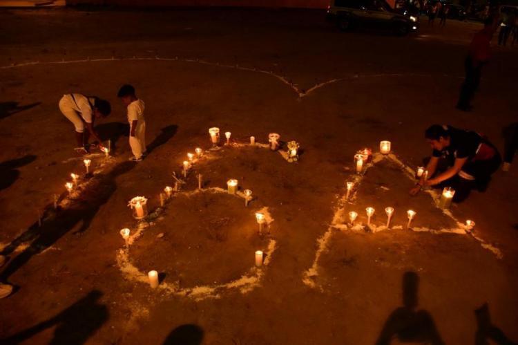 Actos de fe, minutos de silencio marcaron el segundo aniversario del 16A
