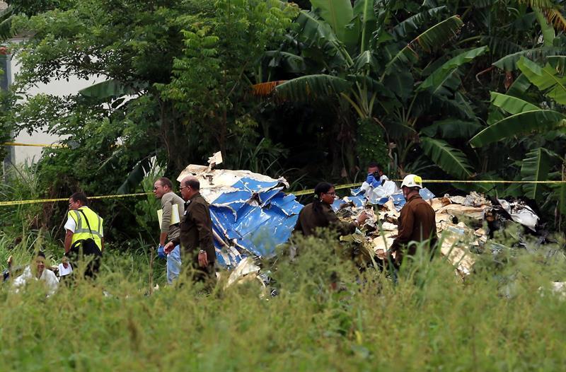 La aeronave se precipitó a tierra entre las localidades de Boyeros y Santiago de Las Vegas