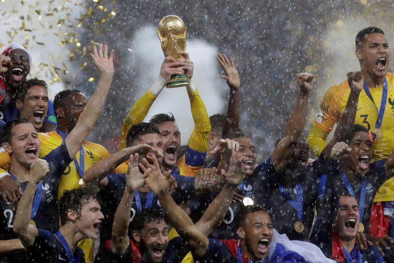 Luego de 20 años, Francia obtiene el segundo título de campeón del Mundo.