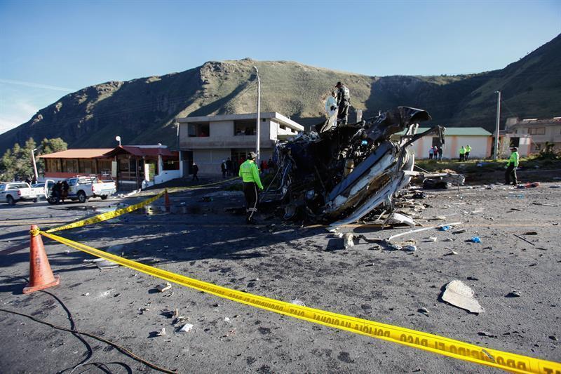 La madrugada de este 14 agosto se registró un trágico accidente en la vía Pifo – Papallacta, sector Palugo provincia de Pichincha.
