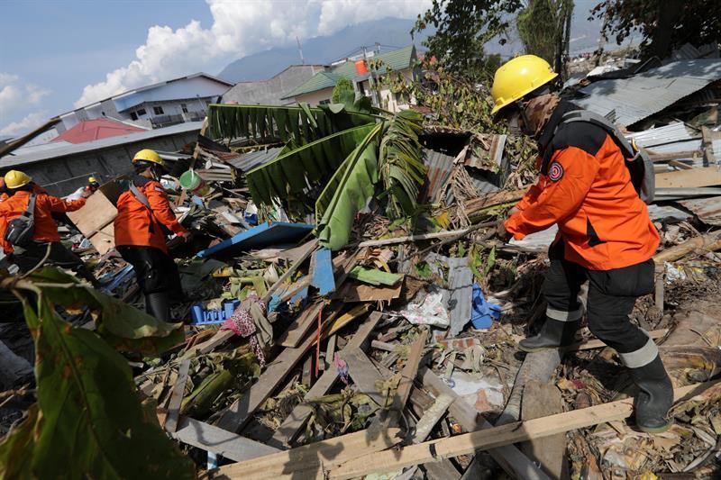 El terremoto de magnitud 7,5 y el posterior tsunami que golpearon la isla de Célebes el viernes pasado