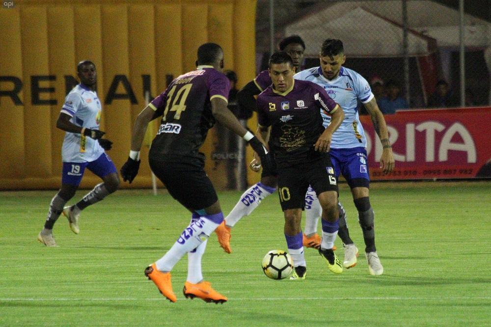 Delfín rescata un punto de oro ante Macará en el Bellavista de Ambato (1-1)