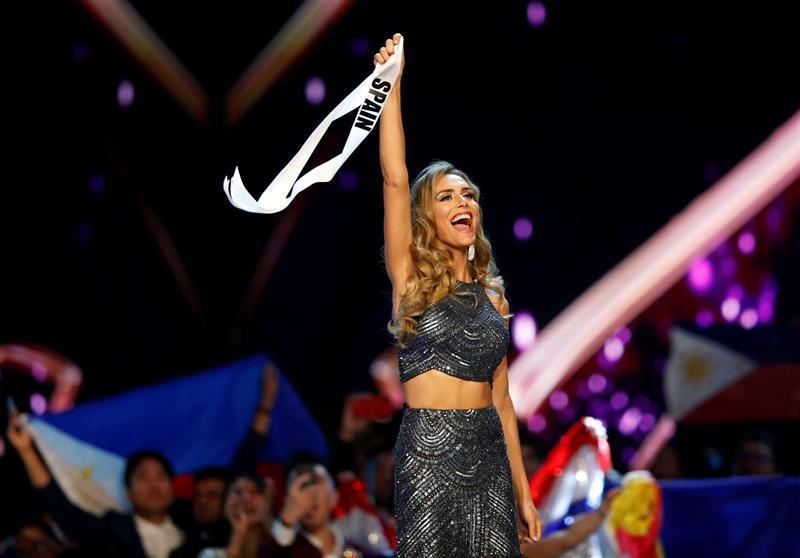 Miss España se lució en su presentación