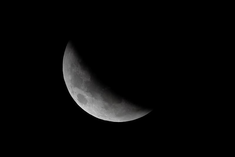 Las mejores fotos del eclipse de luna roja alrededor del mundo-Argentina