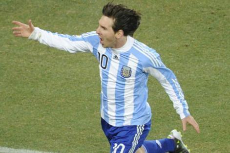 Alemanes ya piensan en Messi