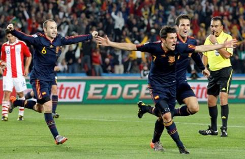 España deja en el camino a Paraguay y pasa a semifinales