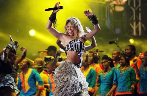 Shakira será la atracción en la clausura