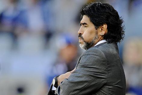 Maradona en el ojo del huracán