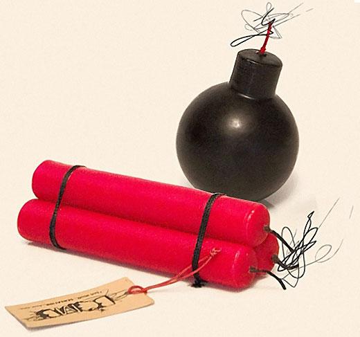 Hombre construye un 'vibrador bomba' para que su ex novia tuviera un 'orgasmo explosivo'