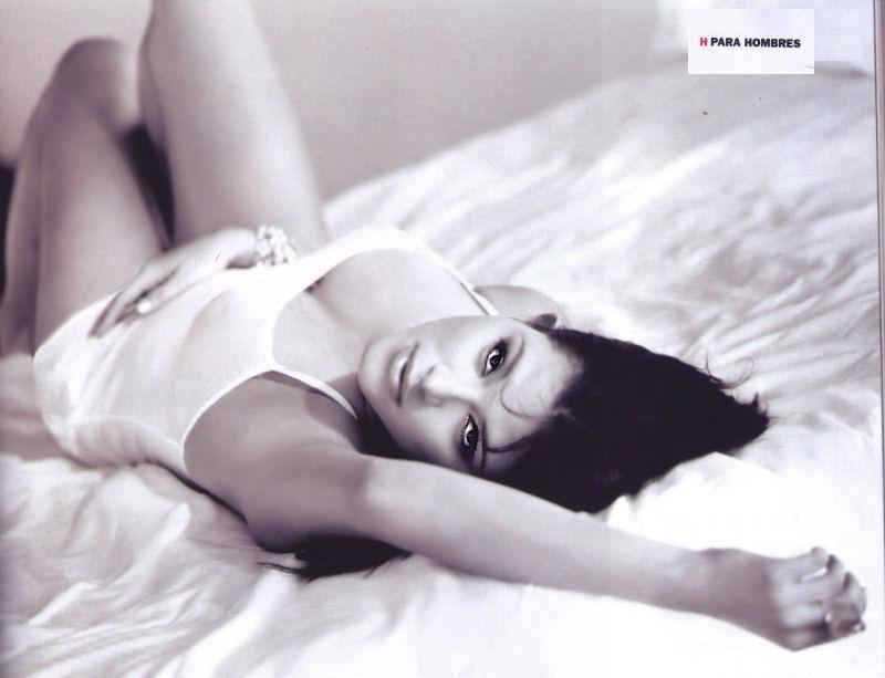 Alicia Machado en sus fotos previas a 'Playboy'