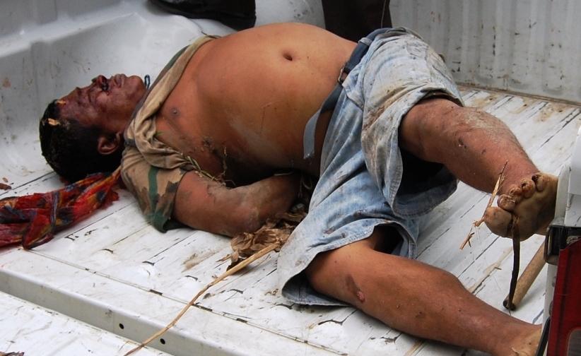 Lo torturaron, ahorcaron y dejaron abandonado en una quebrada