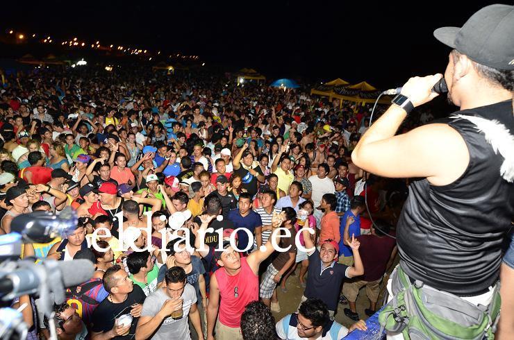 Cientos de personas disfrutaron del Ñawi Fest