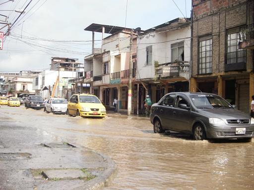 80% de Chone está inundado