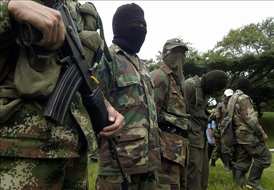 Las FARC ingresa a Manabí para acuartelar a jóvenes