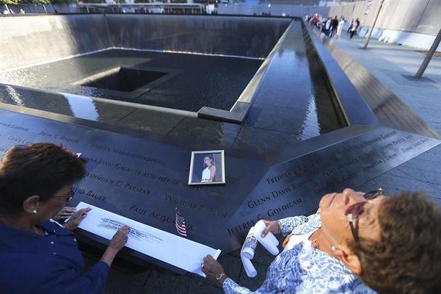 Las víctimas de 11S son recordadas con dolor