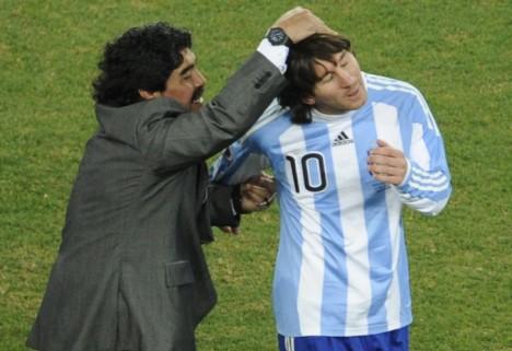 La diferencia entre Messi y Maradona es la educación