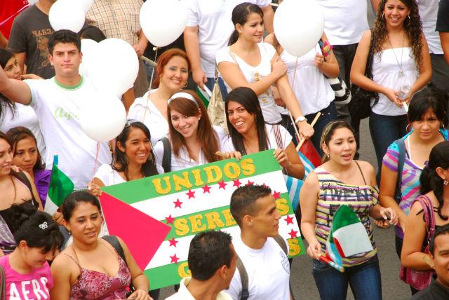 Marcha despierta civismo portovejense