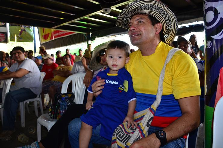 Ecuador vibra con el triunfo de la Tri