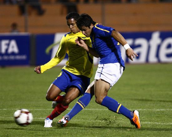 Ecuador cae derrotado 1-0 ante Brasil en sub 20
