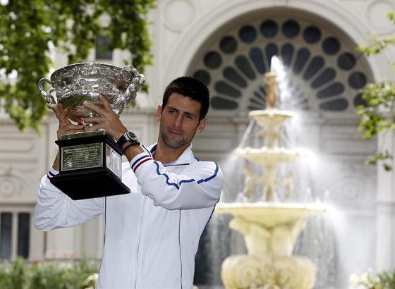 El nuevo campeón: Novak Djokovic