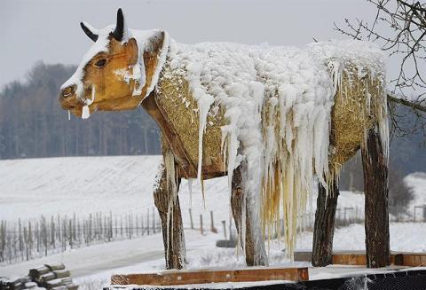 Europa se congela con nueva ola de frío