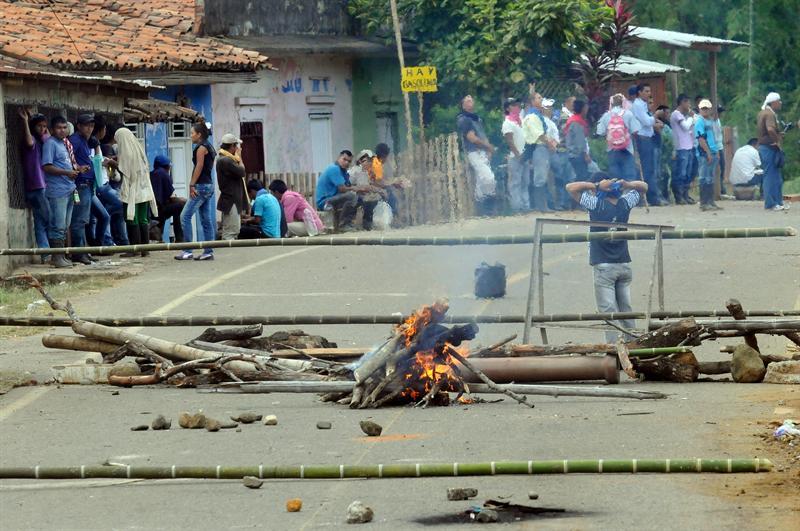 Tensión tras segunda muerte en conflictos colombianos