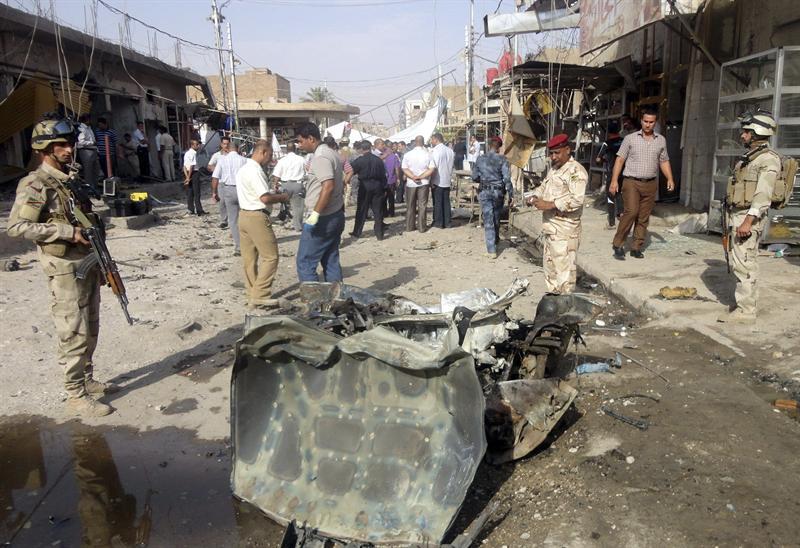 Serie de atentados deja al menos 71 muertos en Irak
