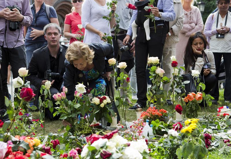 Concierto multitudinario cierra homenaje a víctimas de atentados en Noruega