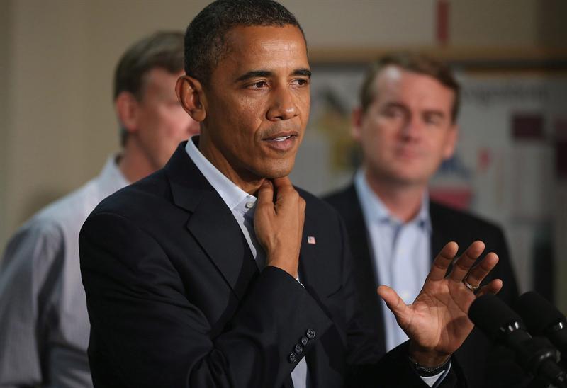 Obama visitó a víctimas de la matanza de Colorado