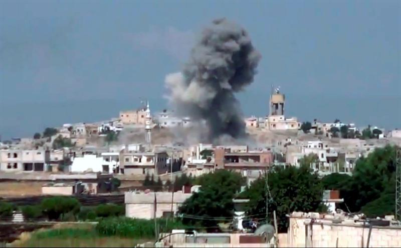 La ONU acusa a Damasco de arrasar con las áreas civiles