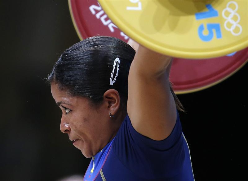 Alexandra Escobar no logró alcanzar la medalla olímpica