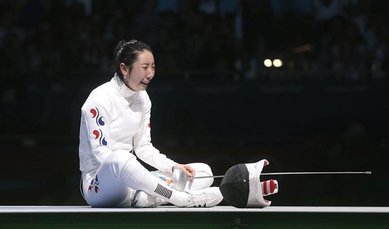 Tiradora surcoreana rechaza medalla de consolación