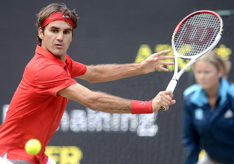 Roger Federer se acerca al oro de Londres