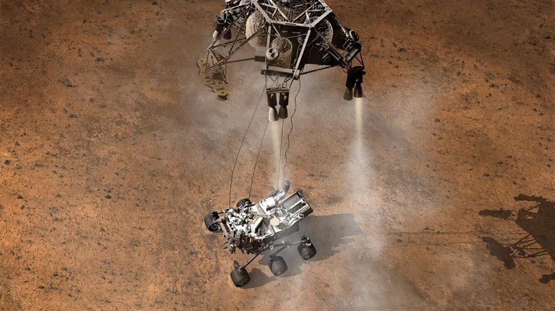 Curiosity llega a Marte en busca de vida