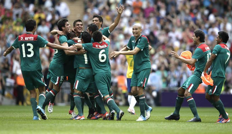 México derrota a Brasil y se lleva el oro olímpico