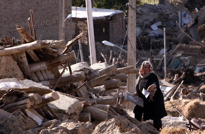 Un nuevo terremoto de 5.3 grados afecta Irán