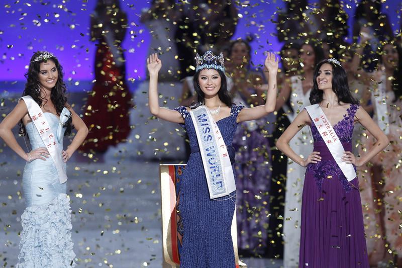 La china Wen Xiayu es la nueva Miss Mundo 2012