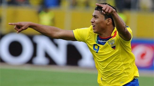 Jefferson Montero es el 'jugador más sobresaliente' según sondeo de la FIFA