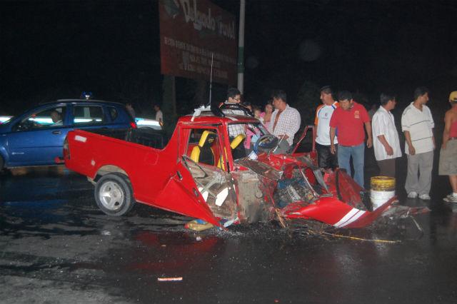 La 'Y' de Montecristi es escenario de accidentes