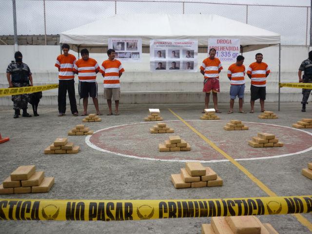 Red de narcos opera en Manta