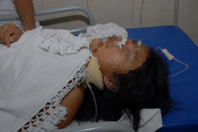 Menor de edad  muere después de lenta agonía